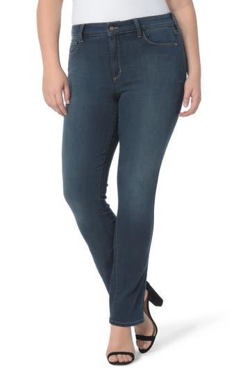 Plus Size Women's Nydj Marilyn Stretch Straight Leg Jeans