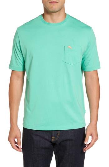 Big & Tall Tommy Bahama Bali Skyline Pocket T-Shirt, Green