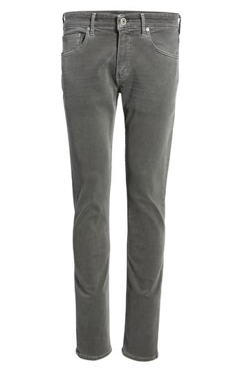 Paige Transcend - Federal Slim Straight Fit Jeans, Grey
