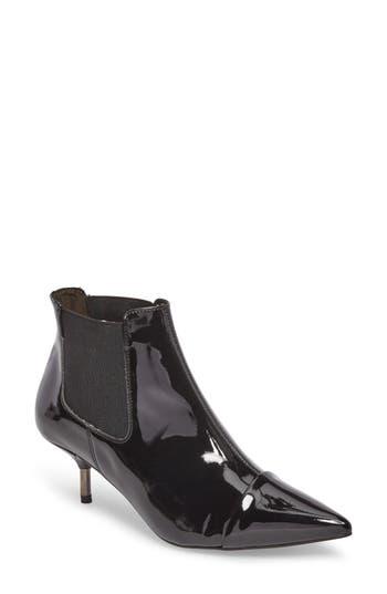 Topshop Monica Kitten Heel Bootie - Black
