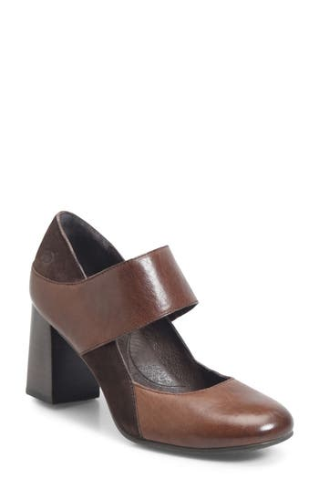 B?rn Motola Strap Pump, Brown
