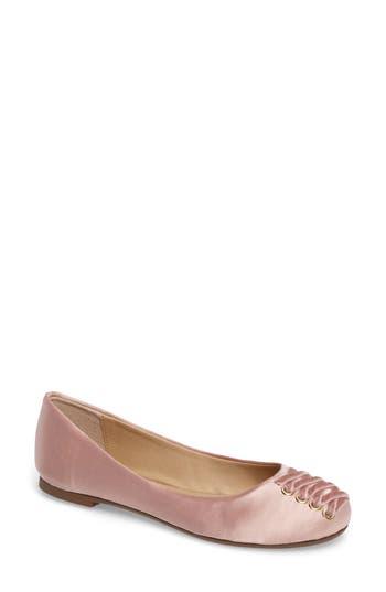 Very Volatile Devs Corset Flat, Pink