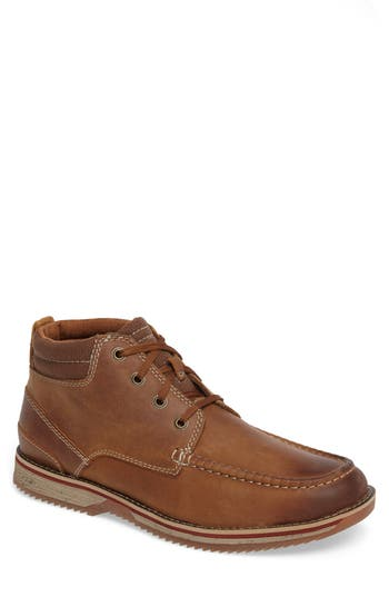 Clarks Katchur Top Boot, Brown