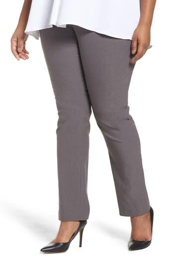 Plus Size Women's Nic+Zoe Wonder Stretch Straight Leg Pants