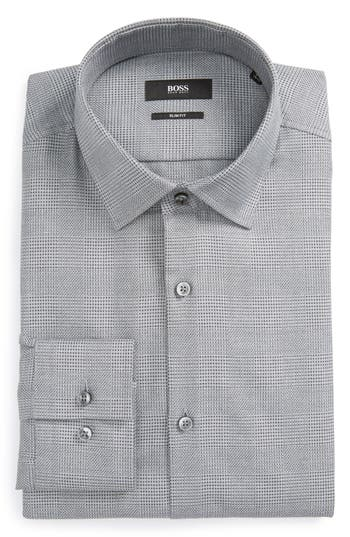Men's Boss Jenno Slim Fit Plaid Dress Shirt