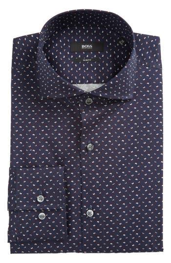 Men's Boss Jason Slim Fit Print Dress Shirt