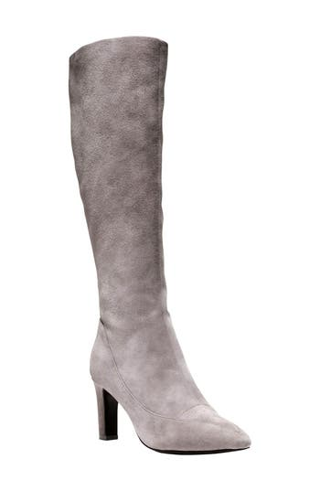 Cole Haan Arlean Pointy Toe Tall Boot B - Grey