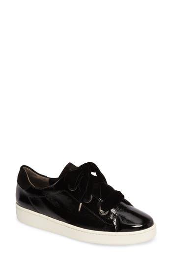 Paul Green Ribbon Sneaker, .5UK - Black