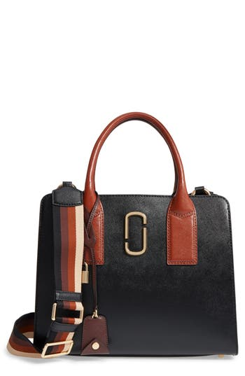 Marc Jacobs Big Shot Leather Tote -