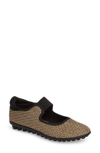 Bernie Mev Kendra Mary Jane Sneaker, Metallic