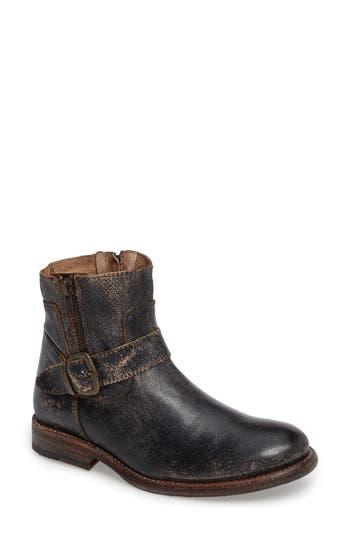 Bed Stu Becca Buckle Boot- Black