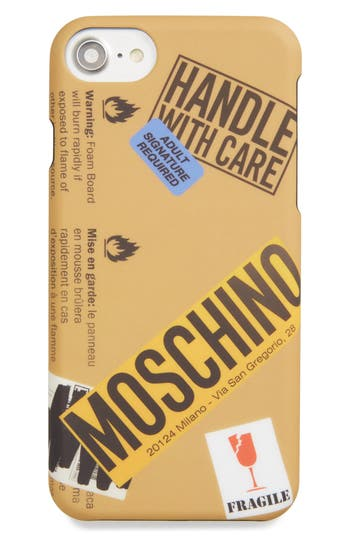 Moschino Package Iphone 6/6S & 7 Case - Beige