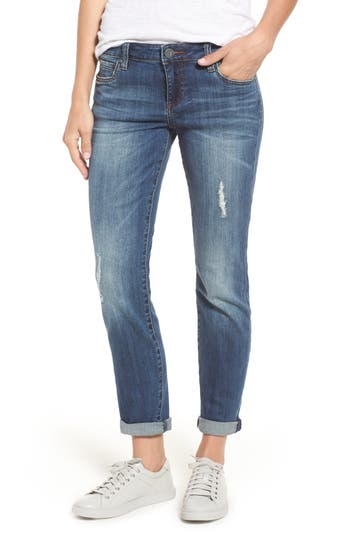 Kut From The Kloth Catherine Boyfriend Jeans, Blue