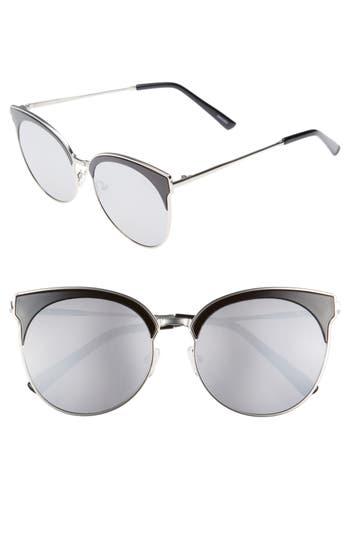 Quay Australia Mia Bella 5m Sunglasses - Black/ Silver