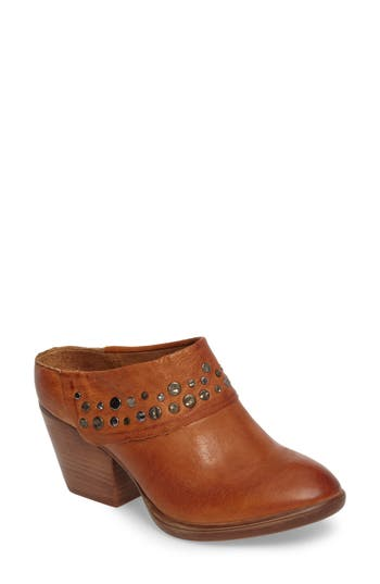 Sofft Gila Studded Mule, Brown