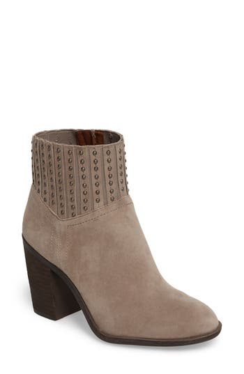 Lucky Brand Salome Embellished Bootie, Beige