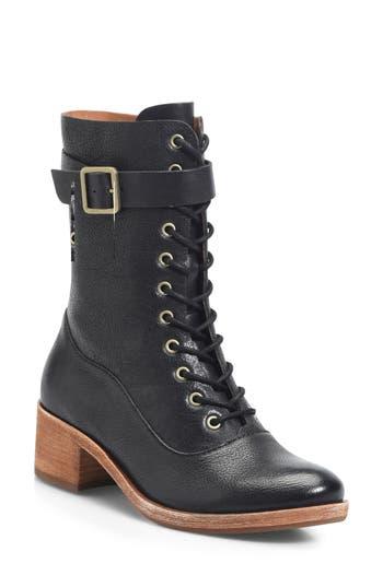Kork-Ease Mona Lace-Up Boot, Black