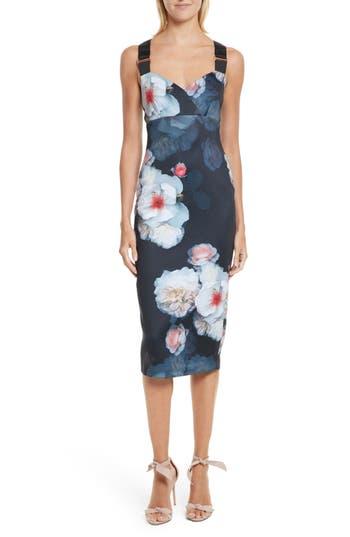 Ted Baker London Teeki Chelsea Body-Con Dress, Black