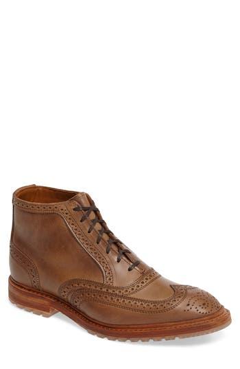 Allen Edmonds Wingtip Boot, Brown