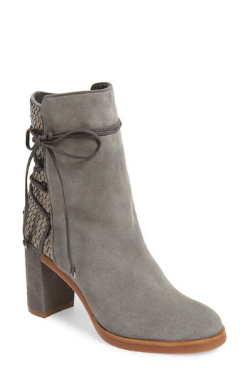 Johnston & Murphy Adley Ankle Wrap Boot, Grey