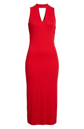 Women's Soprano Body-Con Knit Dress, Size X-Small - Red