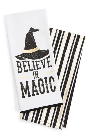 Levtex Believe In Magic 2-Pack Dish Towels, Size One Size - White