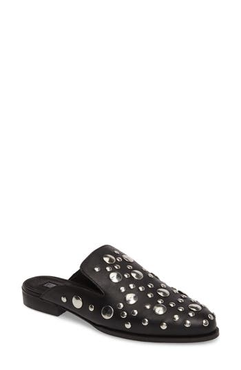 Topshop Klueless Studded Mule - Black