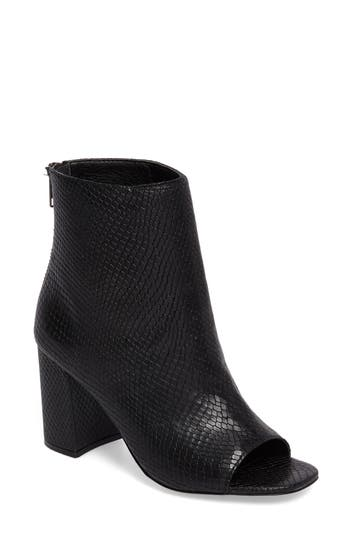 Matisse Melaney Open Toe Bootie, Black