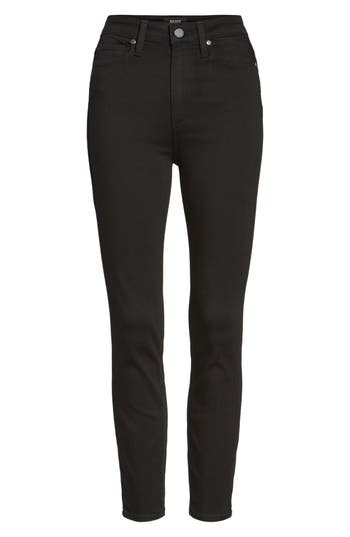 Paige Transcend - Margot High Waist Crop Ultra Skinny Jeans