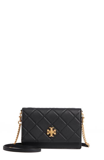 Tory Burch Mini Georgia Quilted Leather Shoulder Bag -