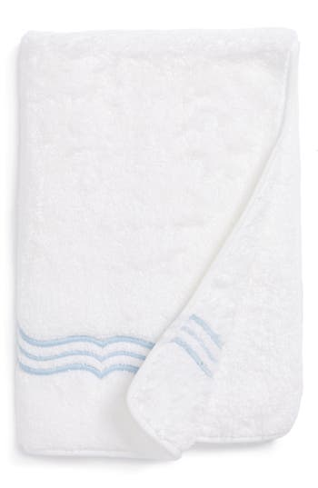 Matouk Paola Guest Towel, Size One Size - Blue