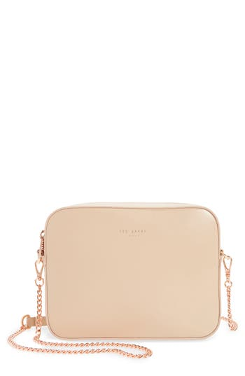 Ted Baker London Casey Camera Crossbody Bag - Beige