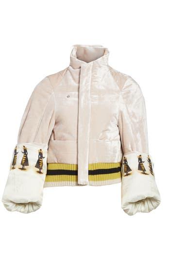 Women's Undercover Crushed Velvet Jacket