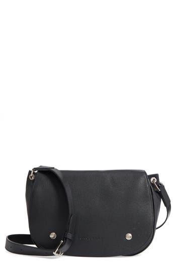 Longchamp Small Le Foulonne Leather Saddle Bag