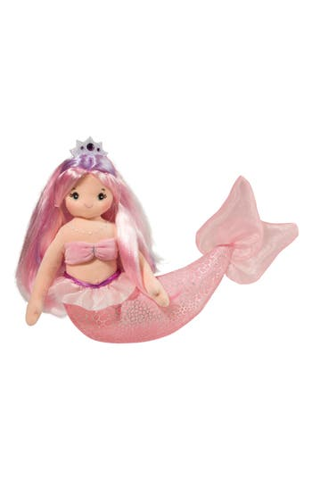 Infant Girls Douglas Serena  Large Pink Mermaid Doll