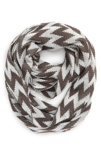 Women's Accessory Collective Chevron Knit Infinity Scarf