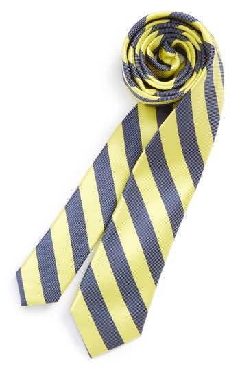 Boys Nordstrom Stripe Silk  Cotton Tie