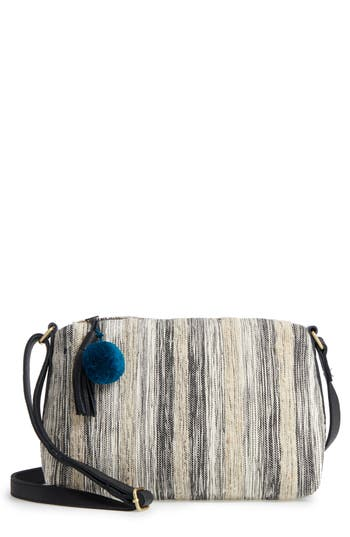 Mercado Global Maribel Woven Crossbody Bag - Black