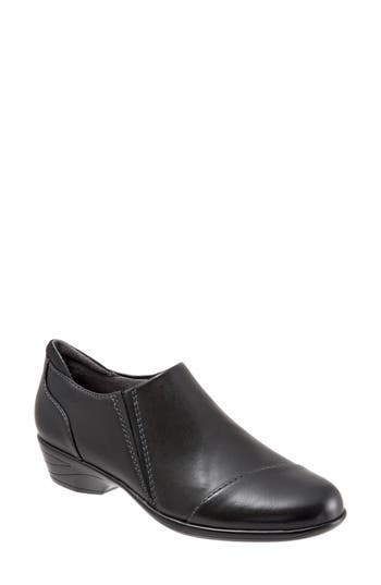 Softwalk Charming Slip-On, Black