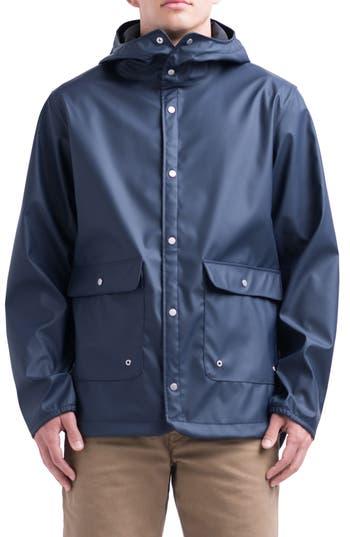 Herschel Supply Co. Forecast Rain Jacket, Blue