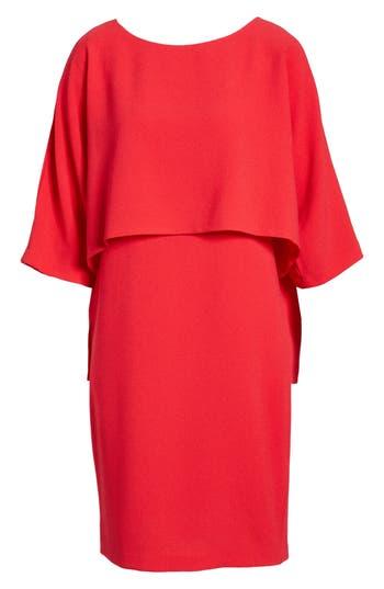 Women's Adrianna Papell Draped Blouson Sheath Dress