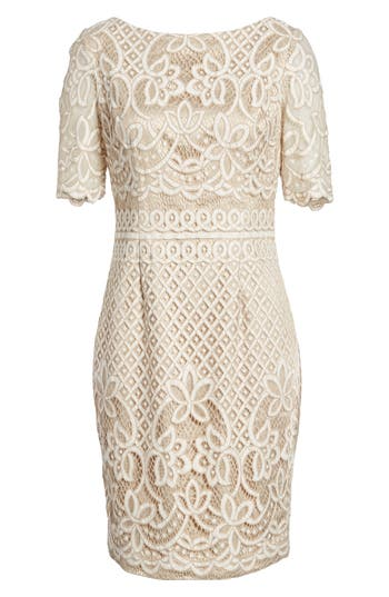 Women's Eliza J Lace Sheath Dress