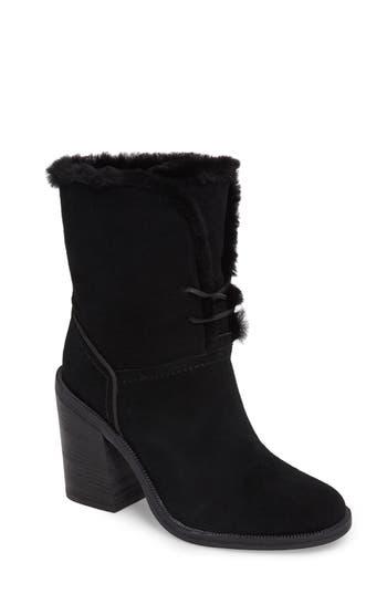 Ugg Jerene Genuine Shearling Lined Boot, Black