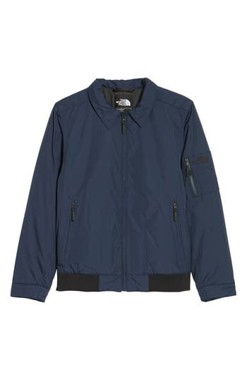 The North Face Barstol Aviator Jacket, Blue