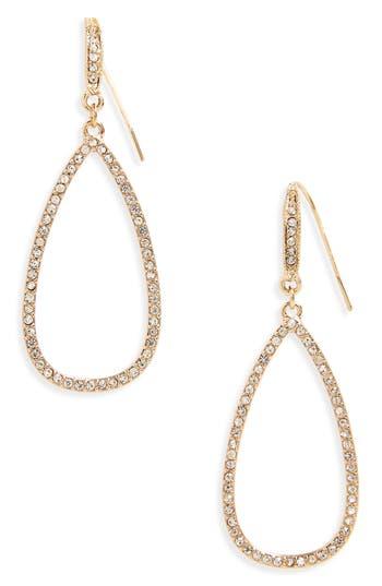 Women's Panacea Crystal Teardrop Earrings