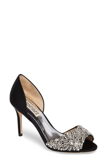 Badgley Mischka Maria Embellished D