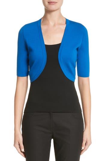 Michael Kors Merino Wool Shrug, Blue