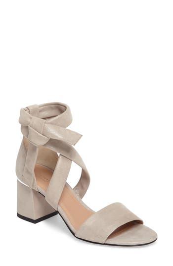 Women's Lewit Elda Ankle Wrap Sandal, Size 8US / 38EU - Grey