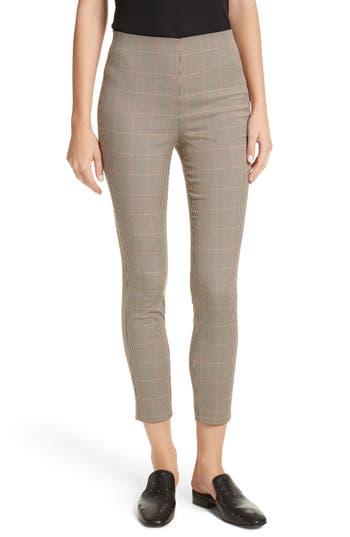 Women's Rag & Bone Simone Glen Plaid Pants, Size 00 - Beige