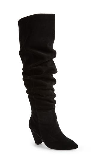 Jeffrey Campbell Senita Over The Knee Boot, Black
